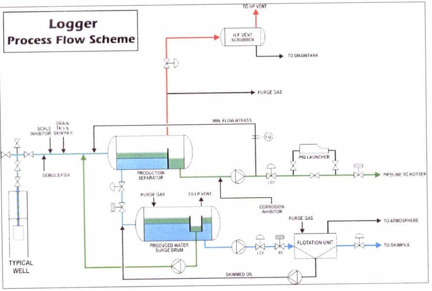logger process flow scheme