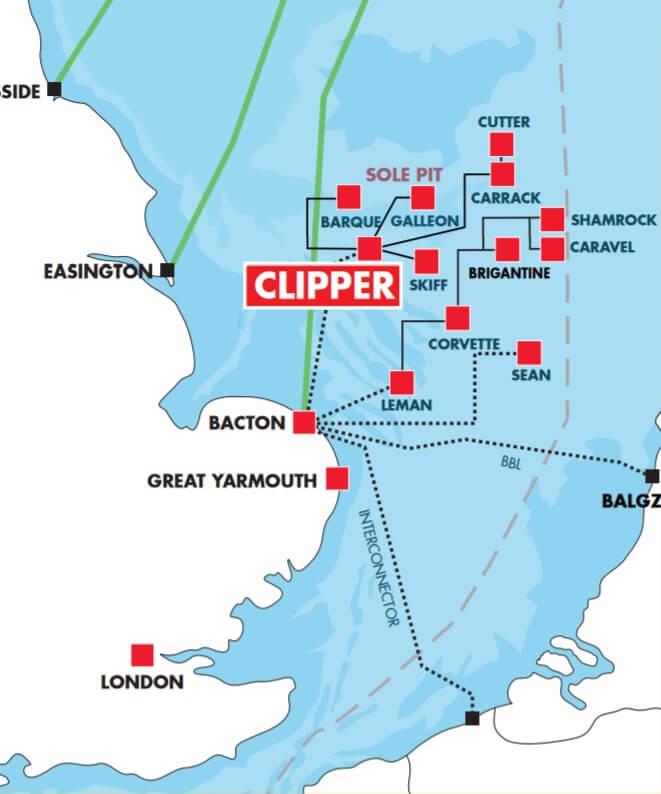 clipper locatie